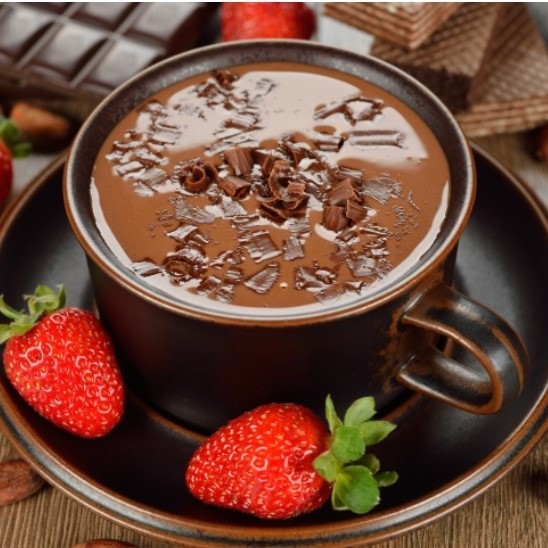 DaVinci Gourmet's Chocolate Dipped Strawberry Steamer