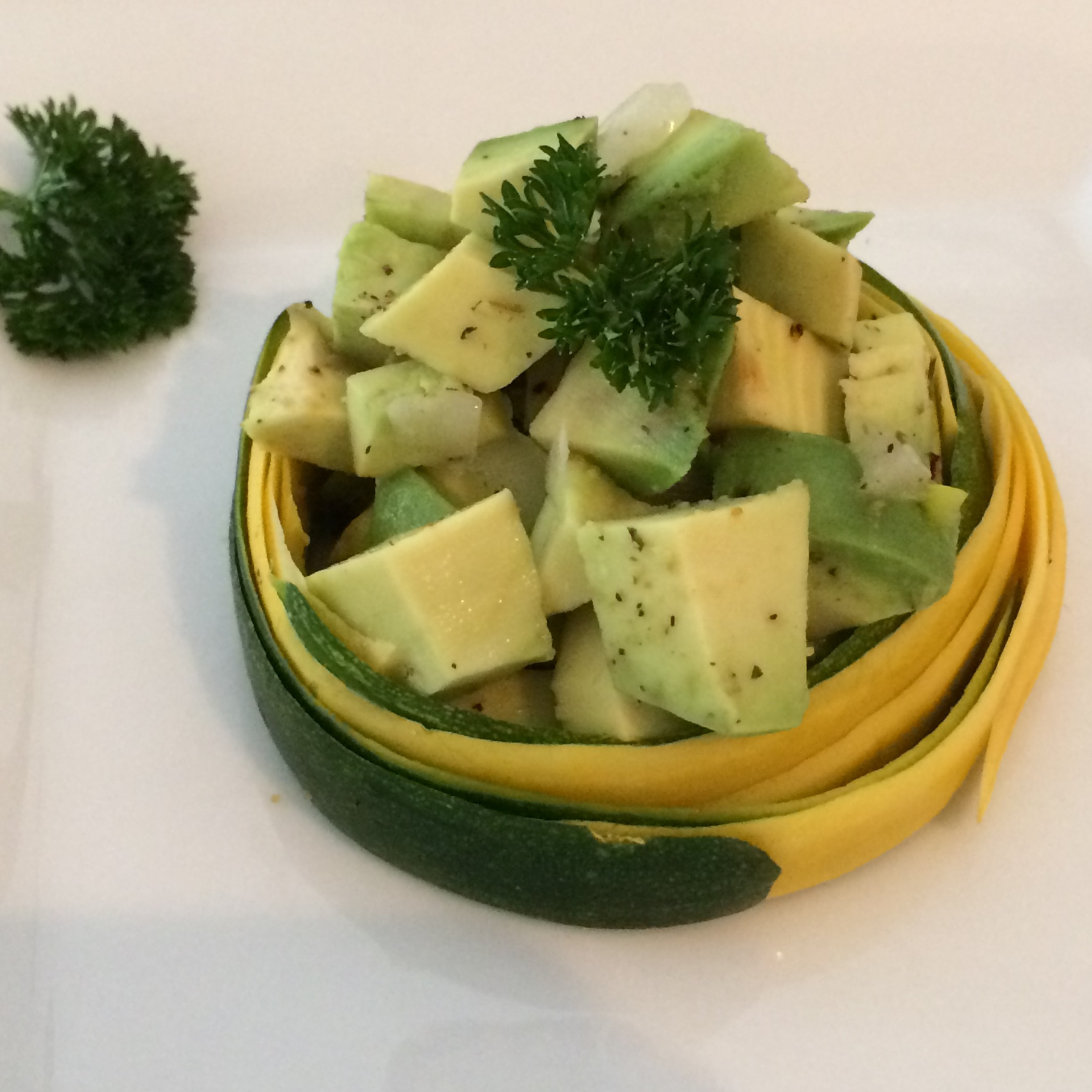 Avocado Tart