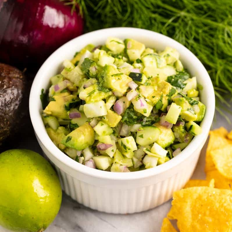 Avocado Fennel Salsa