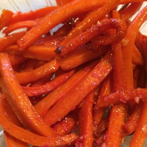 Janets Candied Carrots