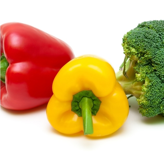 Peppers and Broccoli