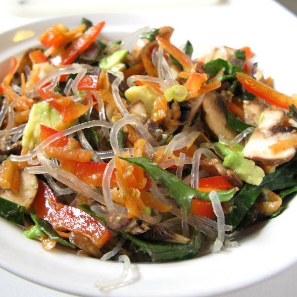 Jills Salad with Kelp Noodles