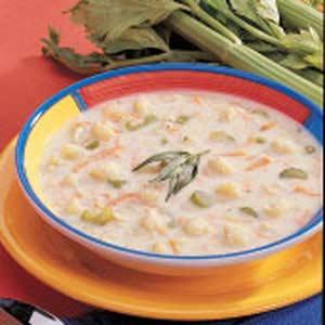 Cream Of Cauliflower Soup Vegetable Day