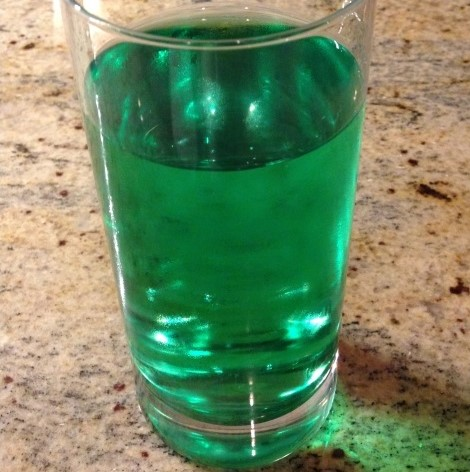 St. Patrick's Day Soda